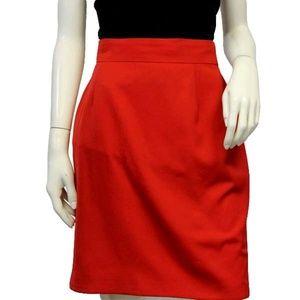Mondi Vibrant Red Skirt Sz (EU) 40 (SKU 00…